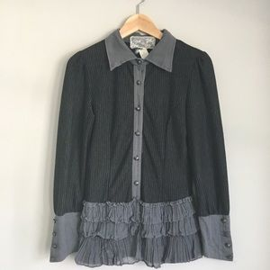 Nick & Mo Anthropologie Top Size Small